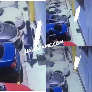 Serial Car Scratcher Caught on Camera. Video