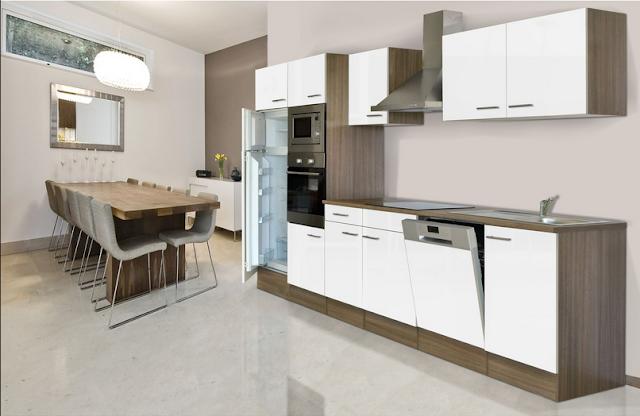 Küchenzeile 400 Cm