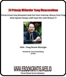 Ebook 24 Prinsip Milyader Yang Dicerahkan