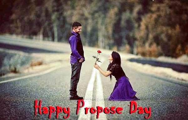 Girl Proposing Boy Happy Propose Day