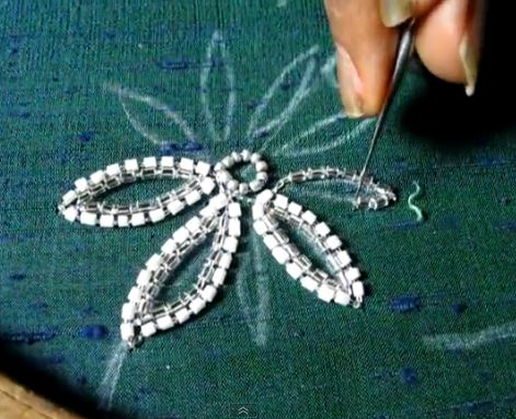 12 basic bead embroidery stitches sew guide.