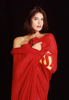 Teri Hatcher sexy Superman cape picture