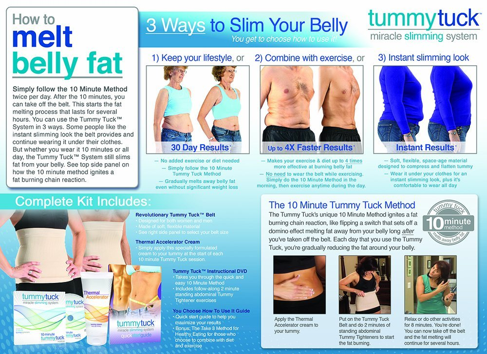 Tummy Tuck Belt As Seen on TV [Reviews]   Does it work