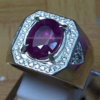 Cincin Batu Permata Ruby - ZP 908
