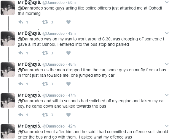 Twitter: Man Narrates How He Almost Got Kidnapped in Oshodi, Lagos This Morning