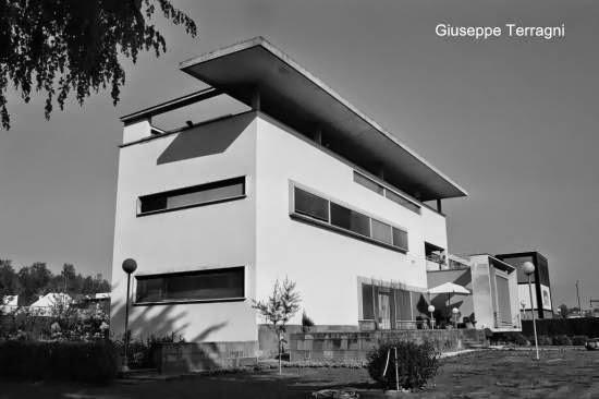 Villa Bianca foto en blanco y negro