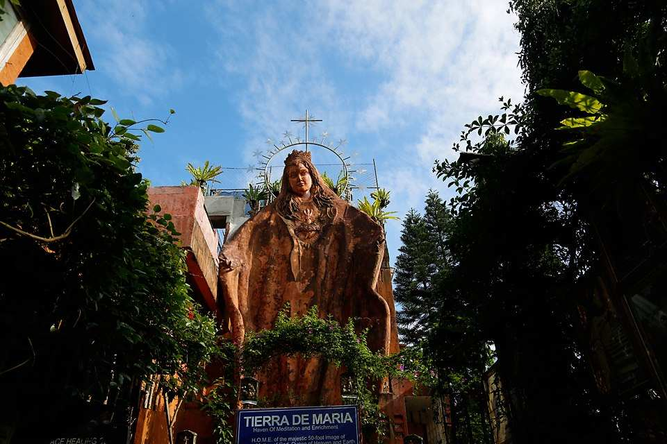 Our Lady of Manaoag at Tierra de Maria in Tagaytay