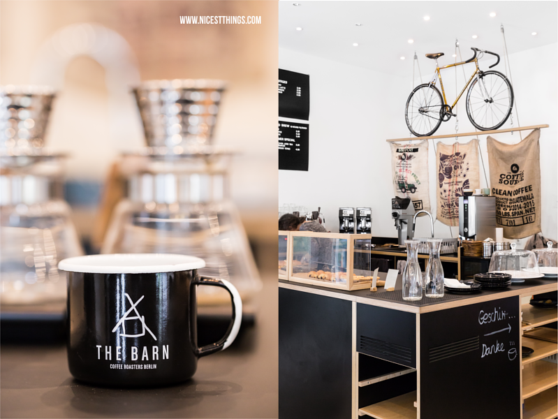 Theke im Cafe Coffee Nerd Heidelberg