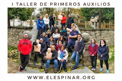 I TALLER TEÓRICO PRÁCTICO DE PRIMEROS AUXILIOS el espinar