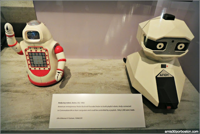 Computer History Museum: Andy Toy Robot