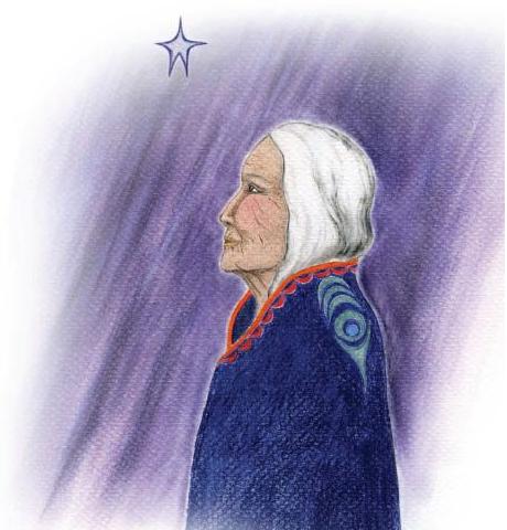 Indian grandmother