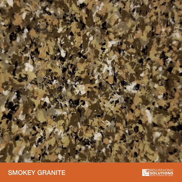 Resurfacing Solutions Knoxville Faux Granite Countertop Color Sample 46