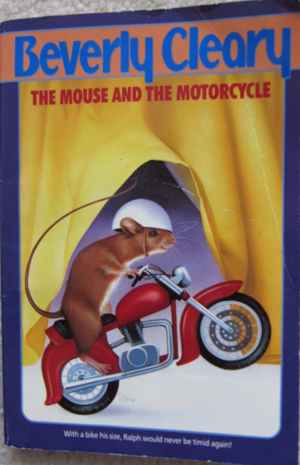 My Book A Day The Mouse And The Motorcycle