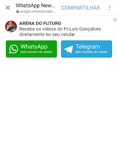 Videos Pr Luis Goçalves WhatsApp