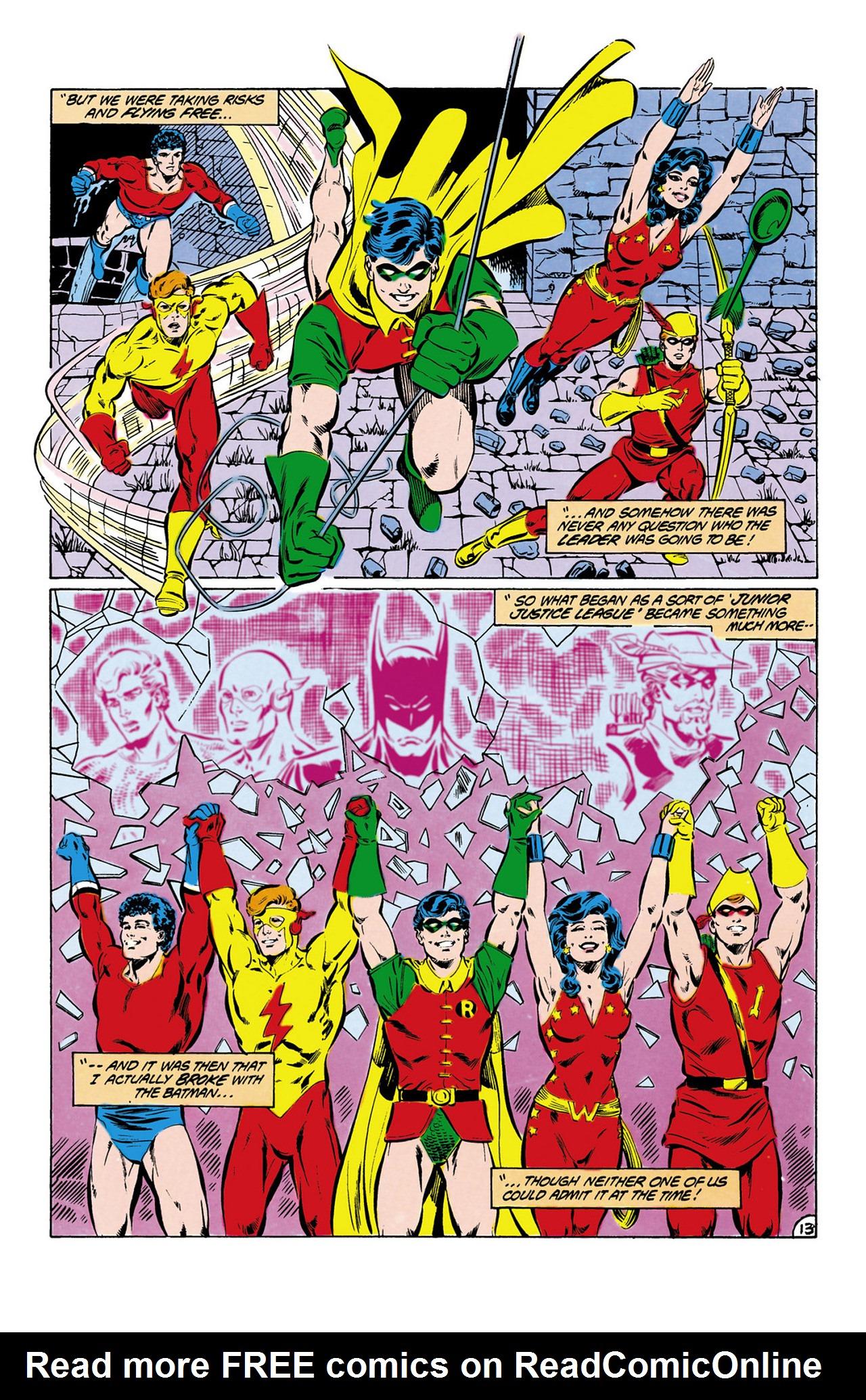 Read online Secret Origins (1986) comic -  Issue #13 - 14