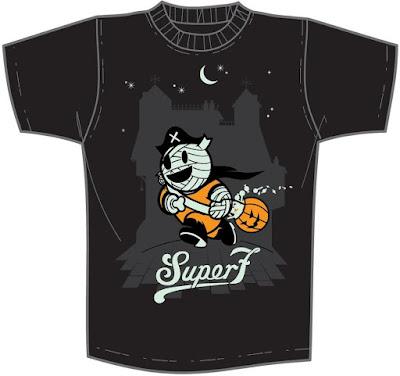 Halloween Mummy Boy Glow in the Dark T-Shirt by Super7