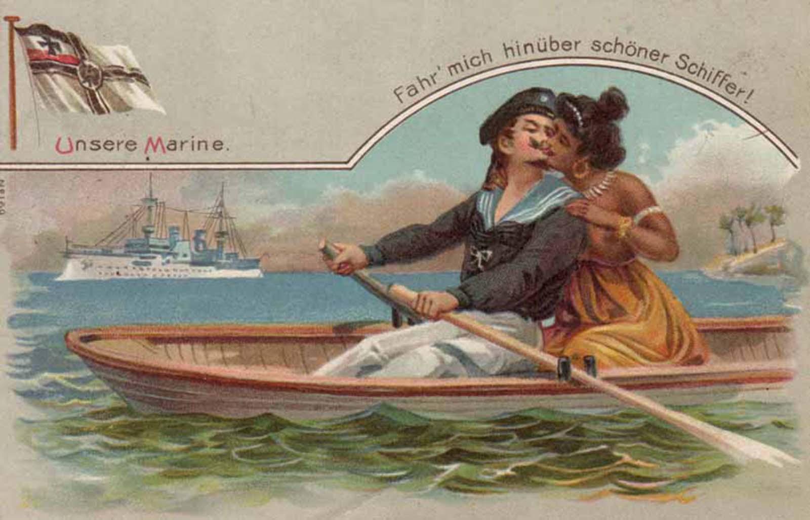 Postales coloniales de un pasado oscuro, 1890-1914