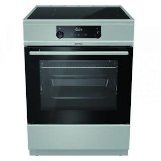 Електрическа печка Gorenje EC6565XPA,керамичен пплот, 65 л, клас А+