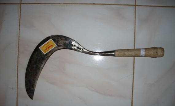 Senjata Tradisional Jawa Barat Arit