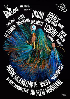 BBK Live, 2017, Bilbao, Festival, cartel, Basoa