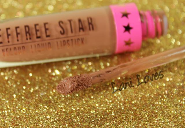 Jeffree Star Velour Liquid Lipstick - Celebrity Skin Swatches & Review