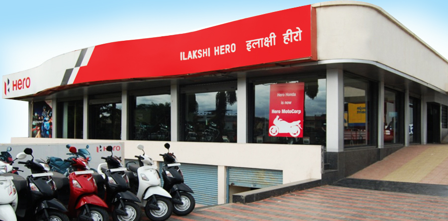 The Hero MotoCorp Showrooms Blog in india