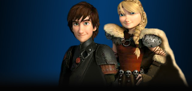 How To Train Your Dragon 2 - Hiccup si Astrid
