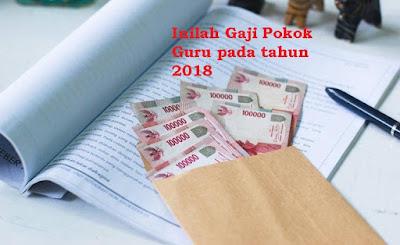 Hasil gambar untuk gaji pns 2018