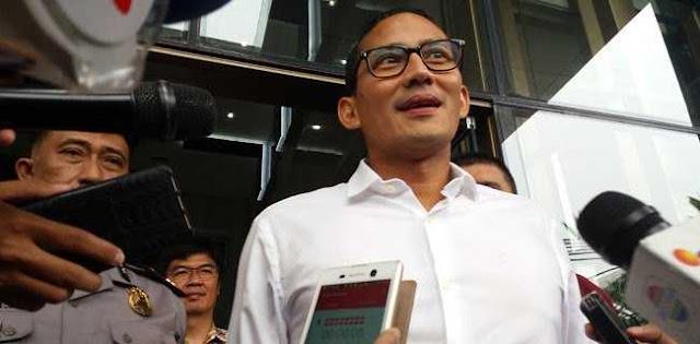 Sandi Soal Dana Kelurahan Jokowi: Ada Udang di Balik Batu?