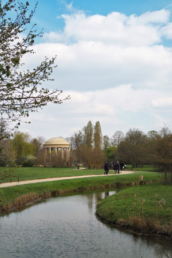 Visite des jardins du Petit Trianon à Versailles