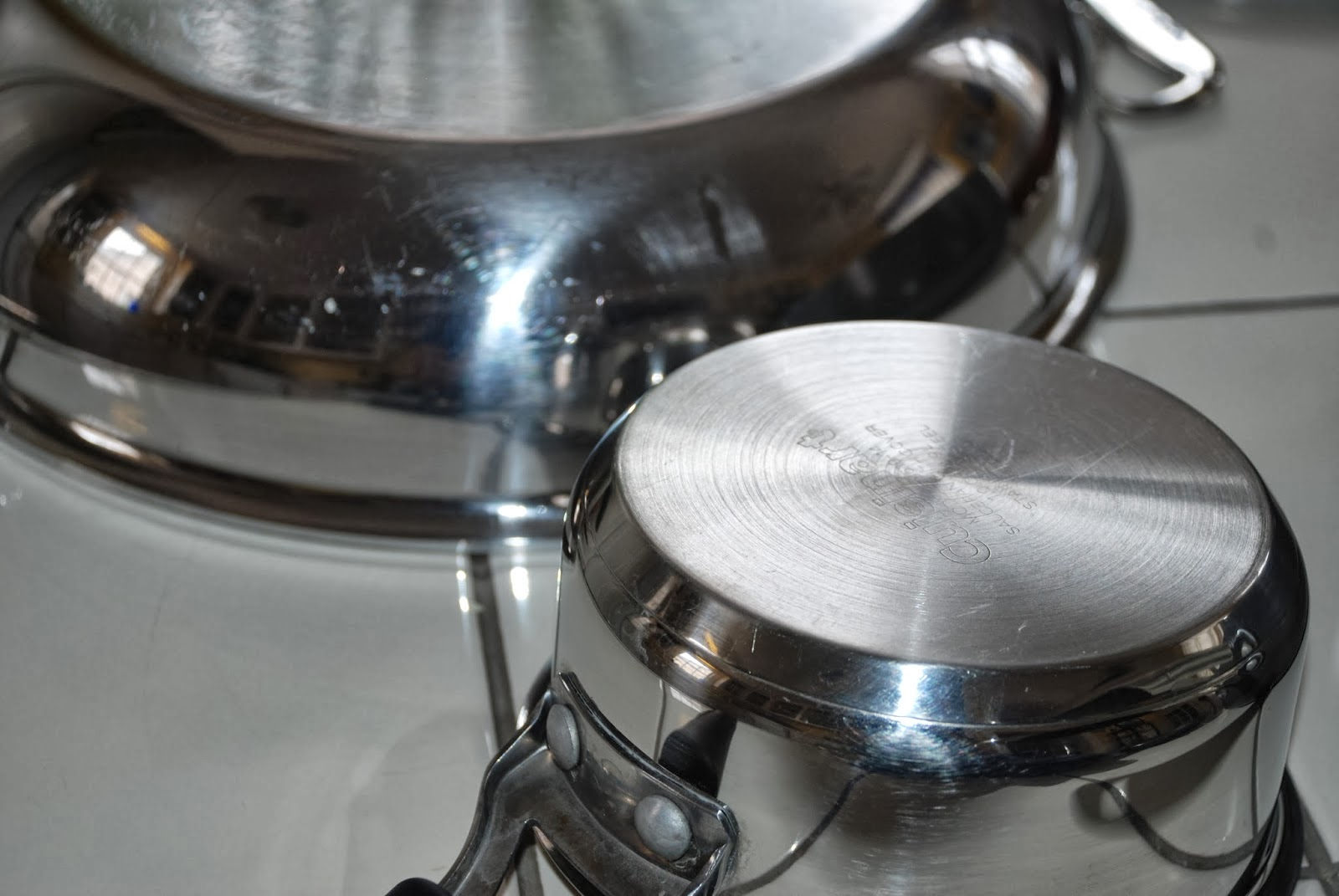 Tips to clean up pots and pans, Over The Apple Tree
