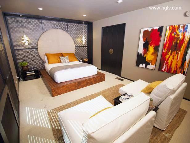 Dormitorio moderno estilo Ecléctico