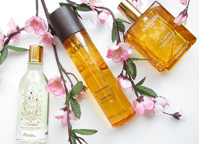 3 Pflanzliche Beauty Öle für Haar & Haut - Caudalie Huile Divine, René Furterer 5 Sens, Melvita L´Or Bio