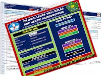 Aplikasi leger Wali kelas Format Excel