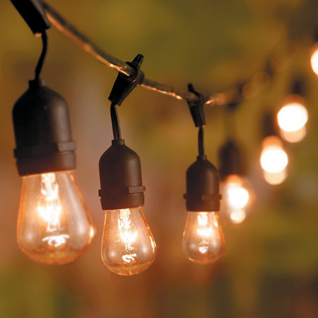 Booth Crush: Edison Bulb String Lights