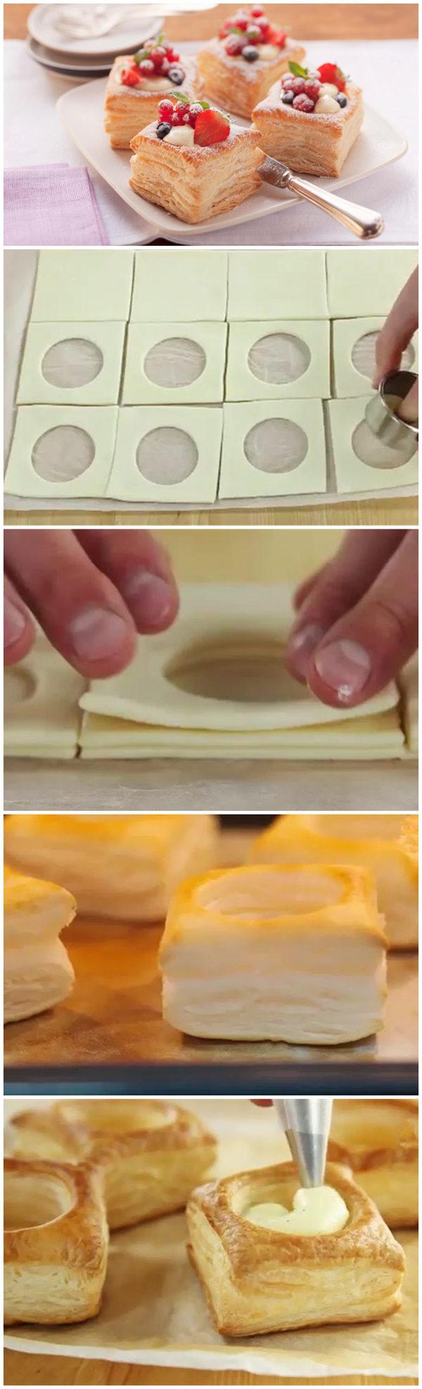 Vanilla Cream Puff Pastry