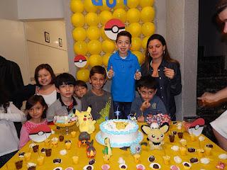 Festa de aniversário em casa