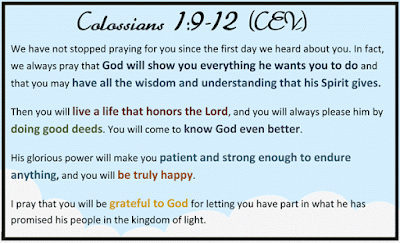 Colossians 1:9-12 | craft.outsideofablog.info