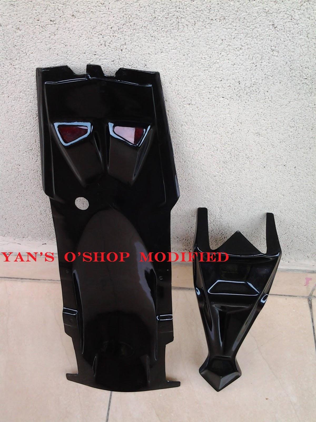 Yans Oshop Variasi Motor UNDERTAIL SIGN FIBER FOR NVL