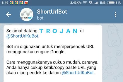 Membuat @ShortUrlKuBot - Short URL Menggunakan Bot Telegram