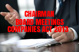 Chairman-Board-Meeting-Companies-Act-2013