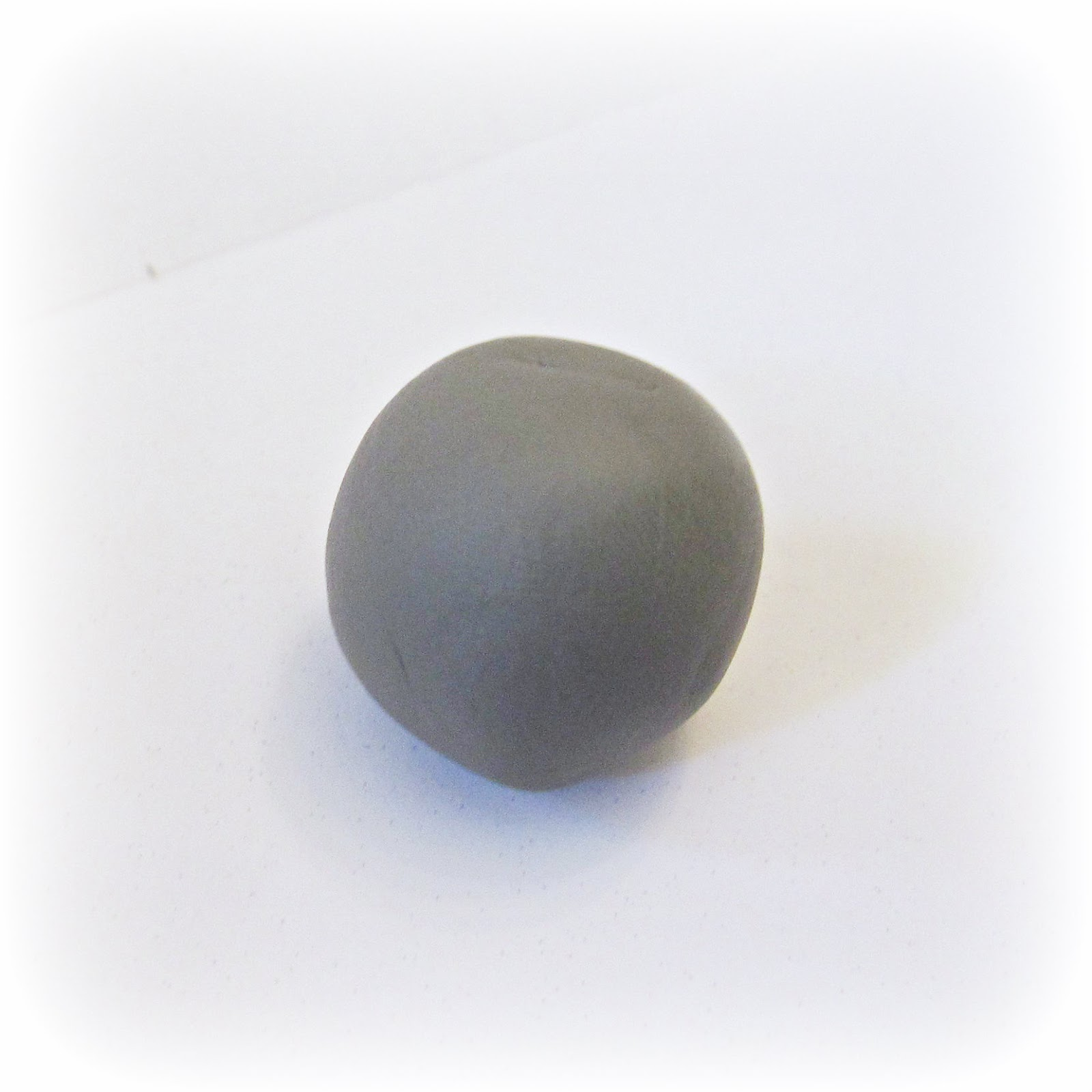 image polymer clay gumball grey gray sculpey