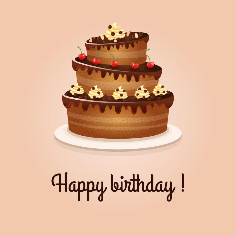 Happy Birthday Nice Cake Wishes Love