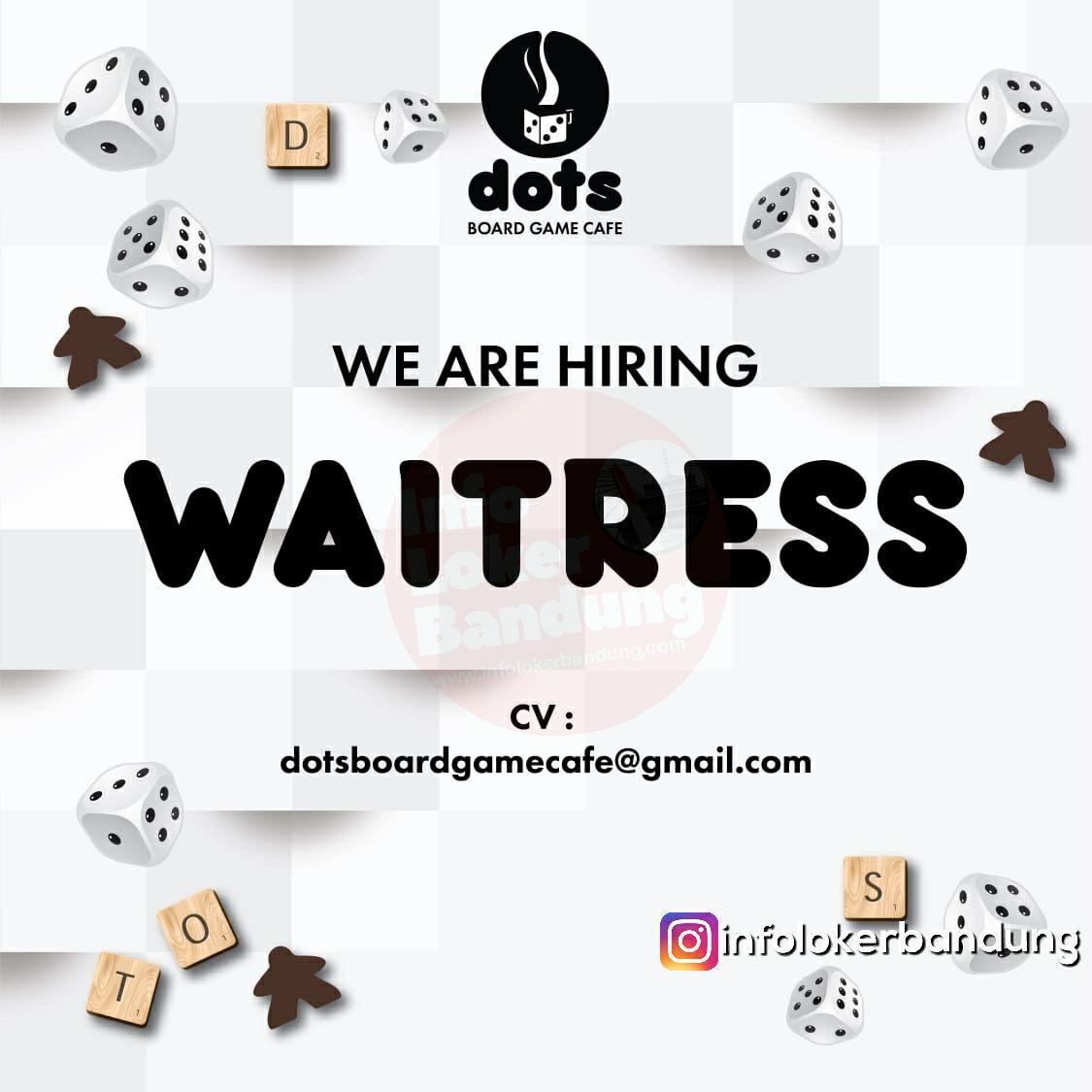 Lowongan Kerja Dots Board Game Cafe Bandung Maret 2019