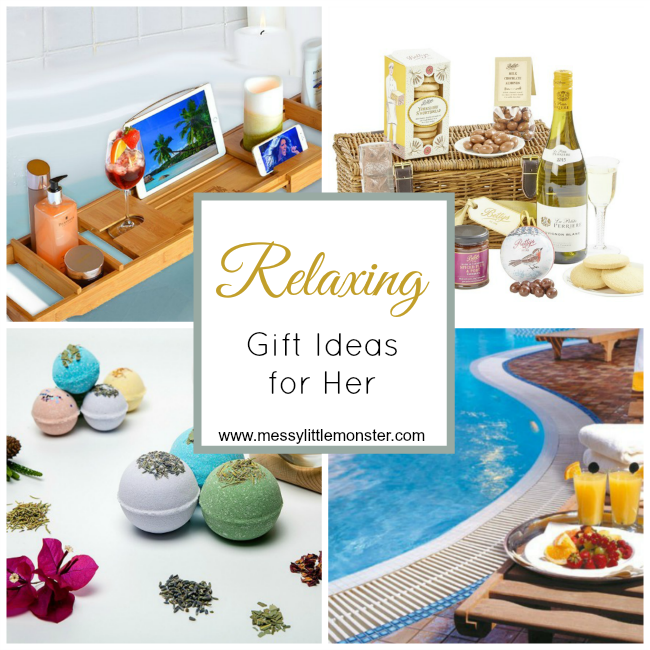 Luxury, relaxing gift ideas for her to enjoy this Christmas. Treat your wife, partner, mum, daughter or friend with one of these special present ideas.