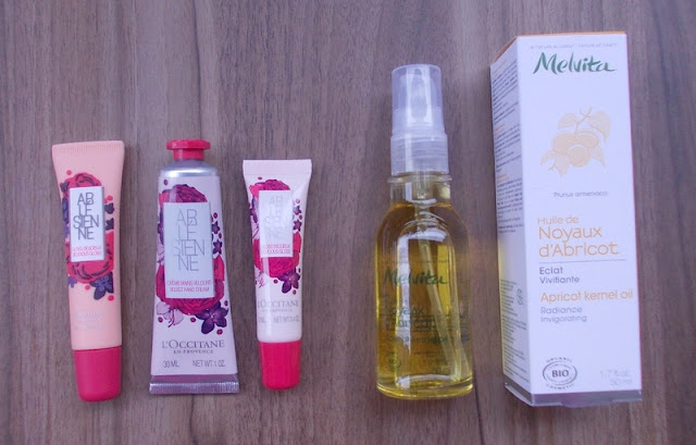 beautiful bloggers meetup goodie bag loccitane melvita