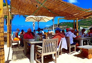 Iil Rock Beach Club Bale de Saint Jean St Barts Caribbean Saint Barth St Barthelemy France