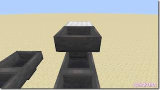 マインクラフト 水流を使った自動仕分け機 仕分けホッパー