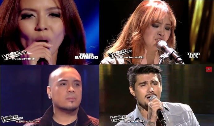 'The Voice PH' Live Shows Results: Douglas, Bradley, Arnee and Casper eliminated