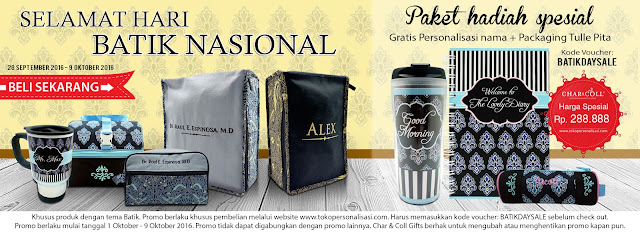 Promo dan Produk Batik
